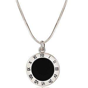 The Roman Numerals Pendant Necklace